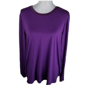 Lord and Taylor NWT Long Sleeve Top Size L (A15)
